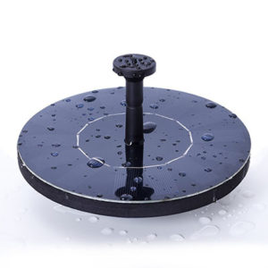 Ankway Solar Bird Bath Fountain Pump
