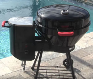 The Rec Tec Grills Bullseye is quick and efficient