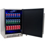 Standard Outdoor Refrigerators are 5.5-6 cu ft