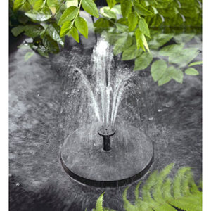 Solatec Solar Powered Bird Bath Fountain Pump