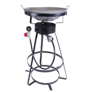 Stansport Single Burner Camp Stove with Cast Iron Burner