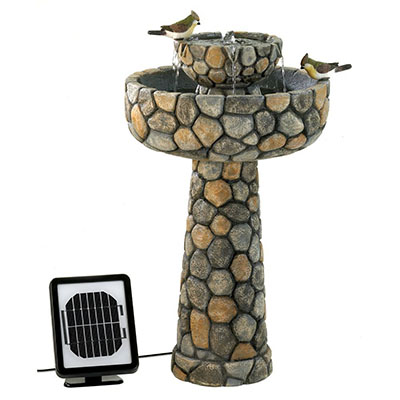 Furniture Creations Wishing Well Solar Fountain