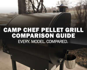 camp chef pellet grill comparison feature