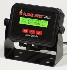 The Flame Boss 200 WiFi - The Best Big Green Egg Temperature Controller