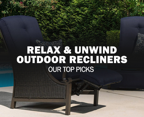 Relax, Unwind and Enjoy: The Best Outdoor Recliner Chairs
