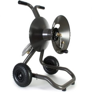 best garden hose reel cart image 2