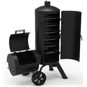 Dyna-Glo-Signature-Series-DGSS1382VCS-D-Heavy-Duty-Vertical-Offset-Charcoal-Smoker