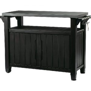 Keter-Unity-XL-Indoor-Outdoor-Entertainment-BBQ-Storage-Table