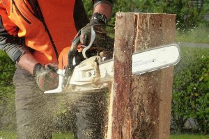 cordless chainsaw vibration
