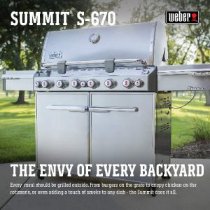 Weber Summit 6 burner grill
