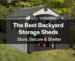 Backyard Storage Sheds Feature
