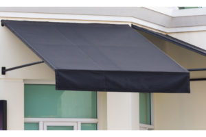 What is the purpose of window awnings?