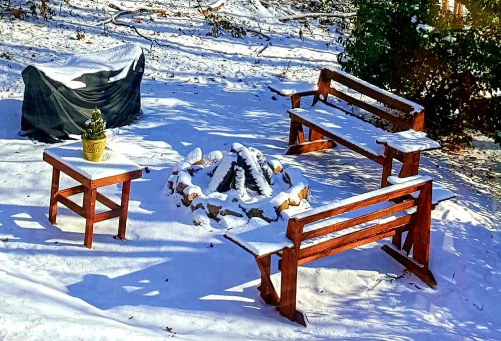 Can You Use A Fire Pit In Winter